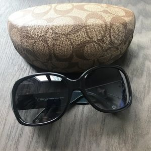 Coach Odessa smokedlens sunglasses W case